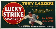 Lucky Strike - 1927 - Baseball - Tony Lazzeri