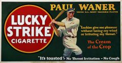 Lucky Strike - 1927 - Baseball - Paul Waner