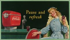 Coca Cola - 1948 - Pause & Refresh - XL