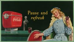 Coca Cola - 1948 - Pause & Refresh