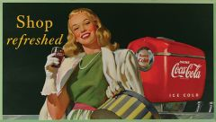 Coca Cola - 1948 - Shop Refreshed