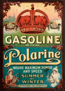 Red Crown Gasoline - Polarine - Advertising 1913 - XL