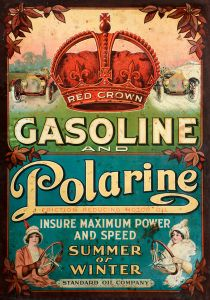Red Crown Gasoline - Polarine - Advertising 1913