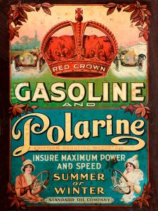 Red Crown Gasoline - Polarine - 1913