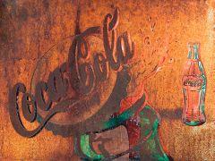 Coca Cola Bottle - Rust
