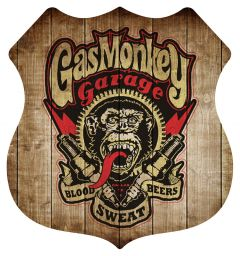 Shield - Gas Monkey (houtlook)