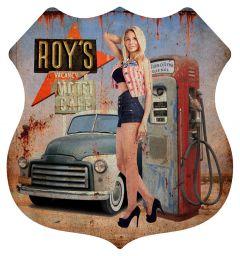Shield - Roys Gas Station