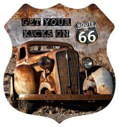 Shield - Rusty Car Kicks
