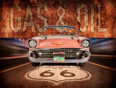Cadillac - Gas Oil Route 66