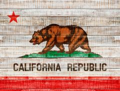 California Flag XL (houtlook)