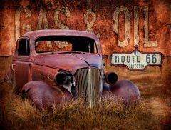Rusty Car - Gas Oil