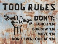Tool Rules - rust