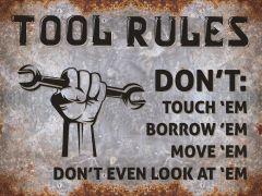 Tool Rules -  grey rust
