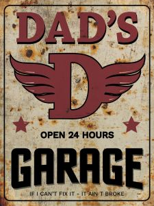 Dads Garage - rust