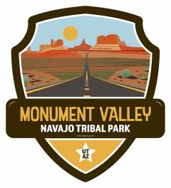 Landmark MONUMENT VALLEY ROAD Navajo Tribal Park