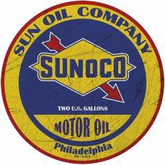 Sunoco Oil - Round 35 cm