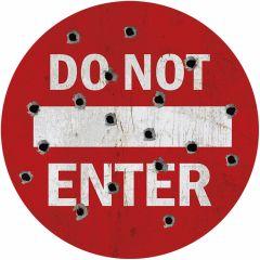 Do Not Enter - Round 35 cm
