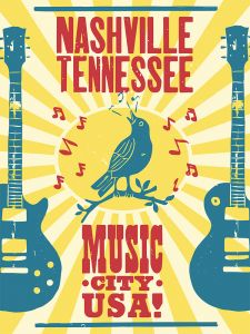 Nashville Music City - Blue Bird