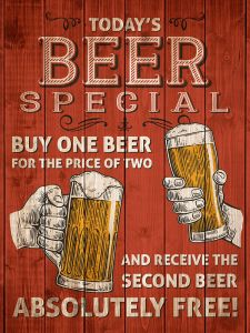 Todays Beer Special - Red