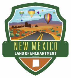 Landmarks state NEW MEXICO