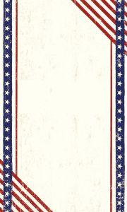 Magneetbord USA - 60 x 100 cm - met zijgriphouders