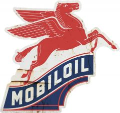 Pegasus Mobiloil - grunge
