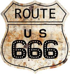 Shield - Route 666 Rust