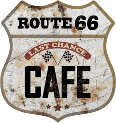 Shield - Route 66 Cafe