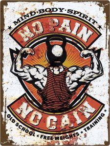 Fitness - No Pain No Gain