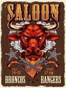 Saloon Bull