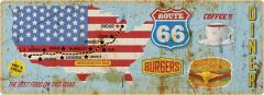 Route 66 map - long