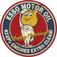 Esso Happy Motoring - 35 cm rond