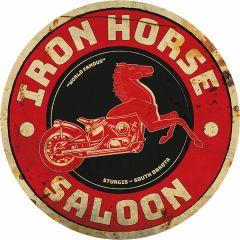 Iron Horse Saloon - 35 cm rond