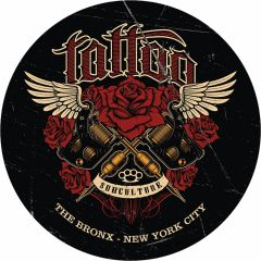Tattoo Bronx New York City - 35 cm rond