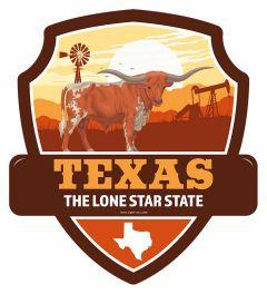 Landmarks state TEXAS