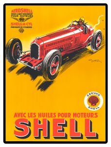 Shell - Red Car