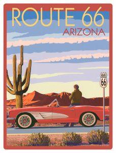 Route 66 - Arizona Car
