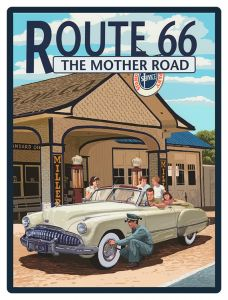 Route 66 - Mother Road Gasstation