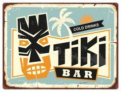Tiki Bar - blue