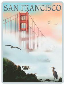 San Francisco - Golden Gate Fog