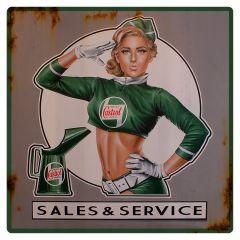 Castrol - Pinup - Sales Service