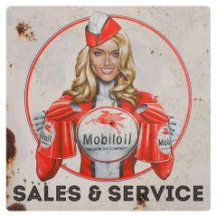 Mobiloil - Pinup - Sales Service