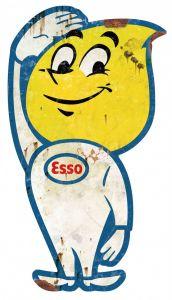 Esso Oil - drop salute XL