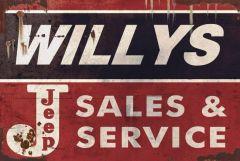 Willys Jeep Sales & Service - XL