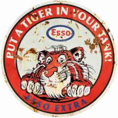 Esso - Put a Tiger in your Tank - round