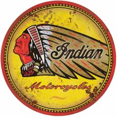 Indian Motorcycles - round - XL