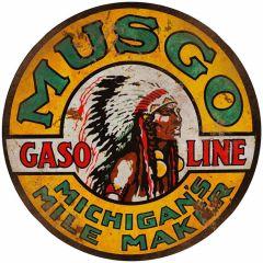 Musgo Gasoline - round - XL