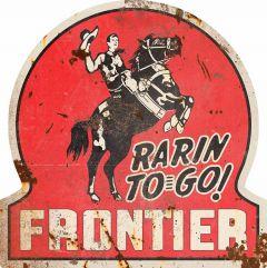 Frontier gasoline - rarin' to go
