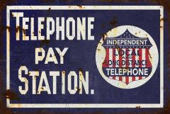 Telephone Pay Station