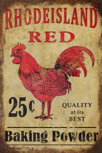 Rhode Island Red - Baking Powder